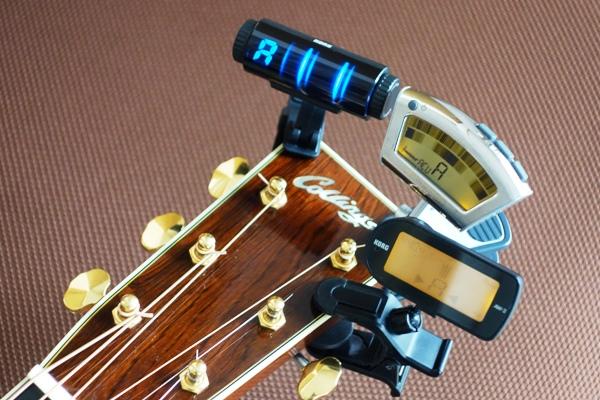 ギターチューナー各種