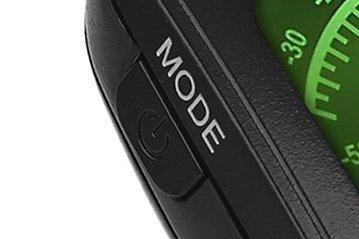 【MODE】と【電源ボタン】