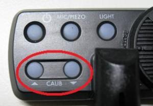 CALIBボタン