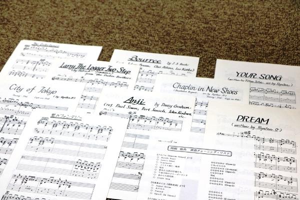 岡崎倫典の楽譜