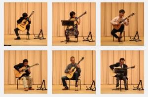 クラシックギターやアコギを弾く生徒さん
