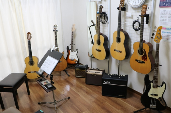 キレイになったギター教室