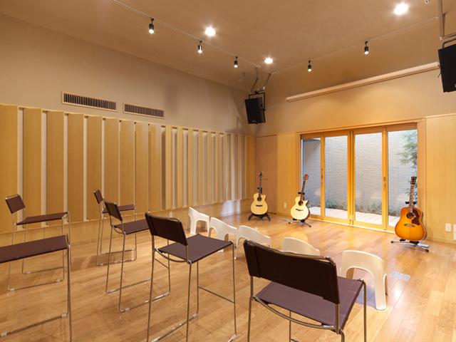 Denpo-G Studioホール内部