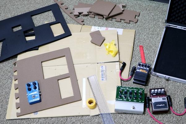 エフェクトボードを作成
