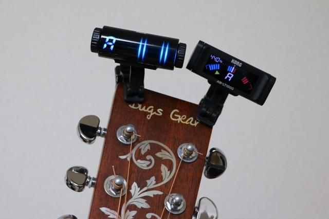 ギターチューナーを比較