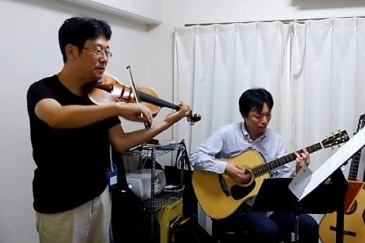 ヴァイオリンとギター