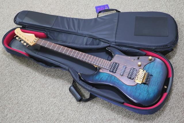 nazcaケースにエレキギター