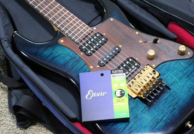 Elixir OPTIWEBとエレキギター