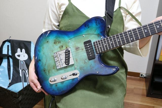生徒さんのエレキギター