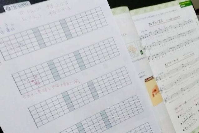 音楽の教科書を解説