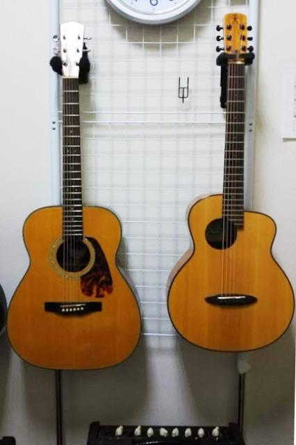 小さなサイズのギター