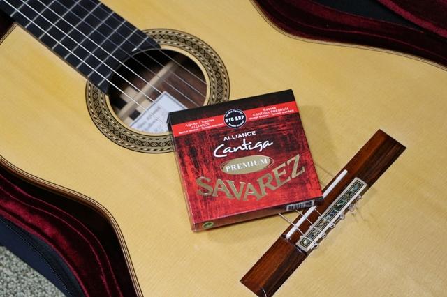 カンティーガ・プレミアムとクラシックギター