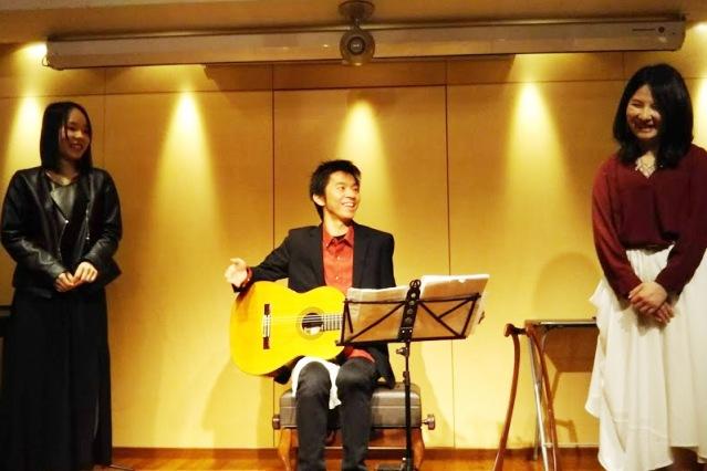 ボーカルとギター