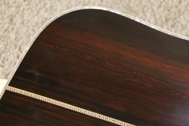 アコースティックギターの修理完了