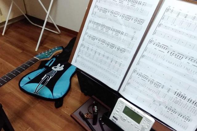 エレキギターの集中レッスン