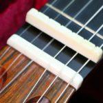 ギターのナット交換