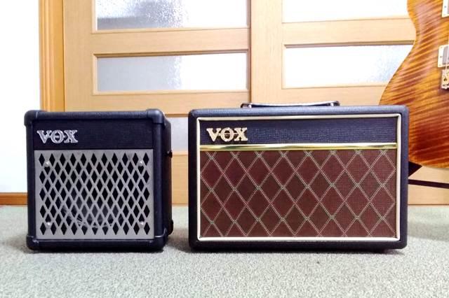 VOX Pathfinder10とMINI5 Rhythm