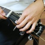 アコースティックギターの弦交換