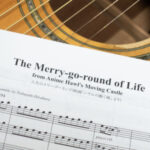 人生のメリーゴーランドをギター合奏