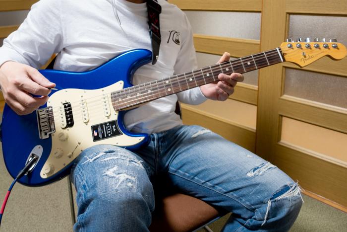 生徒さんのFender エレキギター