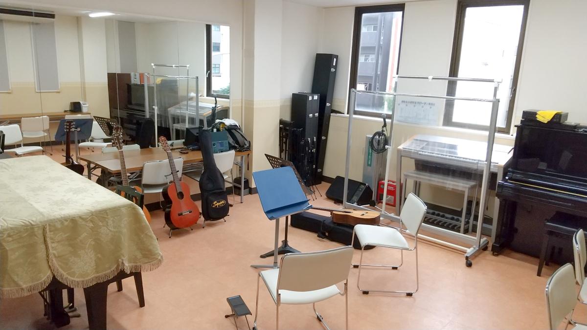 アズール・ギター教室 池下教室レッスン室